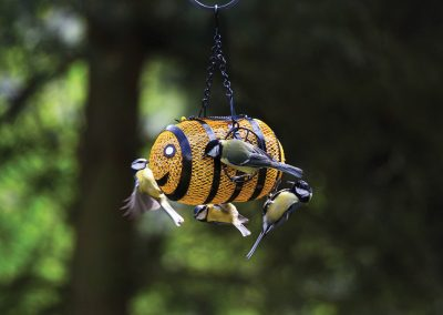 10282 Pinebush Bumble Bee Fun Feeder Finch